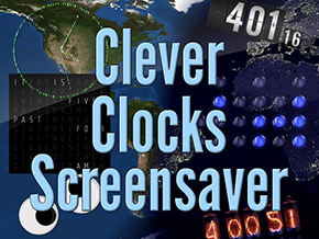 Clever Clocks Screensaver