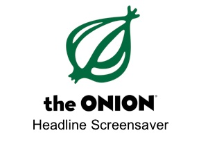 The Onion Headline Screensaver