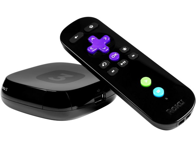 Roku 3 Enhanced Game Remote