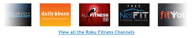 Roku Fitness Channels