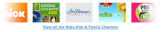 Roku Kids Channels