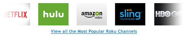 Roku Most Popular Channels