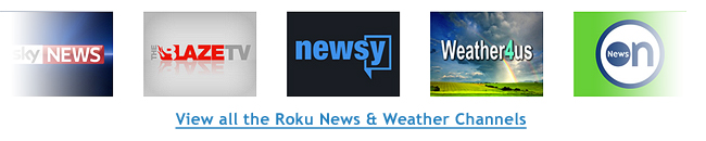 Roku News Channels