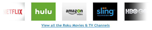 Roku TV Shows Channels